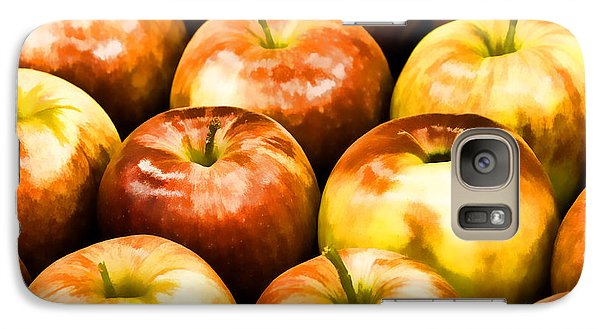 Galaxy Case featuring the photograph Apple A Day by Linda Blair