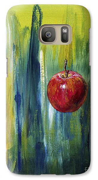 Galaxy Case featuring the painting Apple by Arturas Slapsys