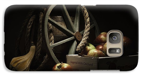 Apple Galaxy S7 Case - Apple Basket Still Life by Tom Mc Nemar