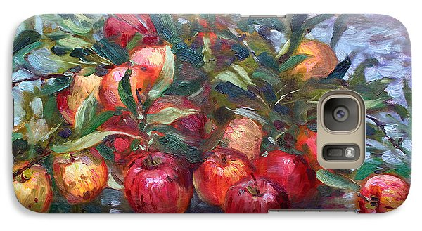 Apple Galaxy S7 Case - Apple Harvest At Violas Garden by Ylli Haruni