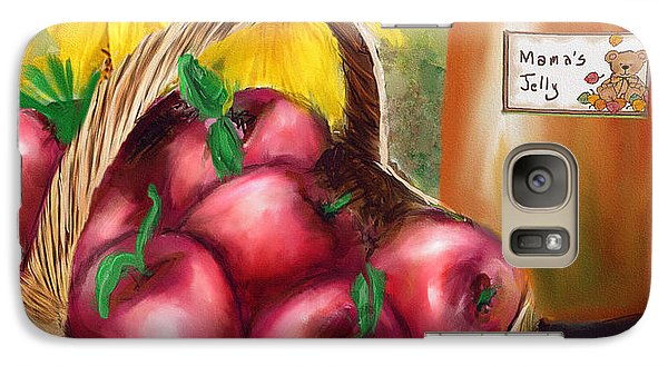 Galaxy Case featuring the digital art Apple Harvest by Mary Almond