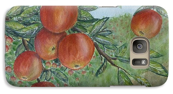 Galaxy Case featuring the painting Apple Orchard by Kelly Mills