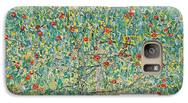 Garden Galaxy S7 Case - Apple Tree I by Gustav Klimt