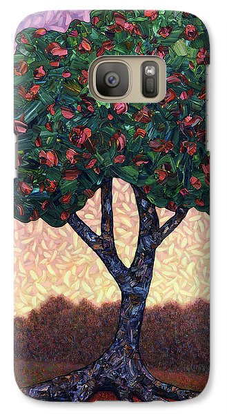 Apple Galaxy S7 Case - Apple Tree by James W Johnson