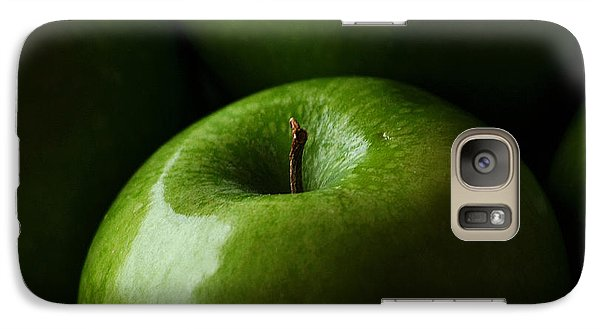Galaxy Case featuring the photograph Apples Green by Lorenzo Cassina