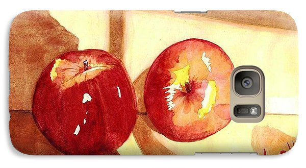 Galaxy Case featuring the painting Apples by June Holwell