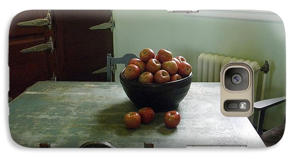 Galaxy Case featuring the photograph Apples by Valerie Reeves
