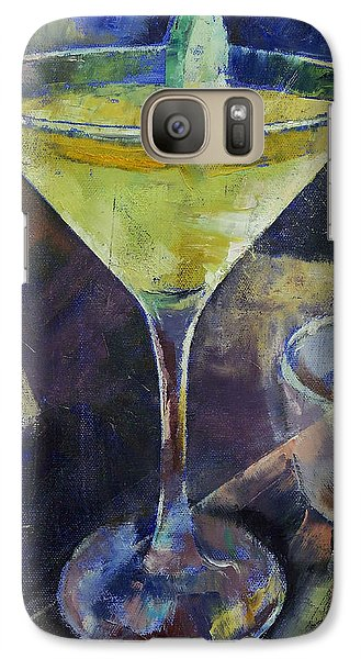 Appletini Galaxy Case by Michael Creese