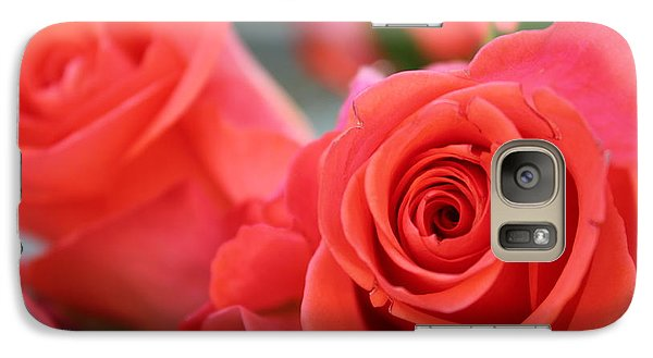 Galaxy Case featuring the photograph Apricot Beauty by Judy Palkimas