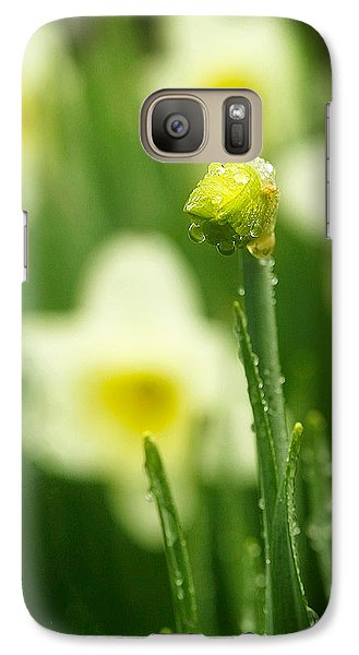 Galaxy Case featuring the photograph April Showers by Joan Davis