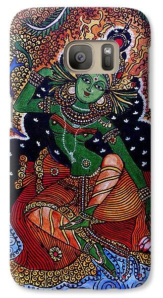 Galaxy Case featuring the painting Apsara by Saranya Haridasan