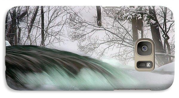 Galaxy Case featuring the photograph Aqua Slushie by Timothy McIntyre