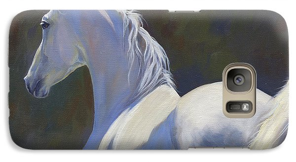 Galaxy Case featuring the painting Arabian Light by Alecia Underhill