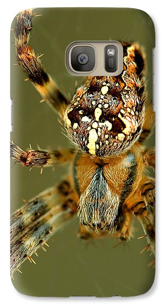 Galaxy Case featuring the photograph Arachnophobia by Gene Walls