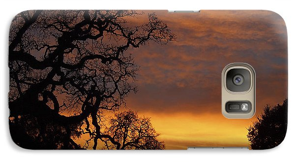 Galaxy Case featuring the photograph Arastradero Open Space Preserve Sunset by Priya Ghose