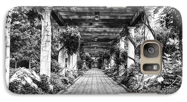 Galaxy Case featuring the photograph Arbor Walkway by Phyllis Peterson