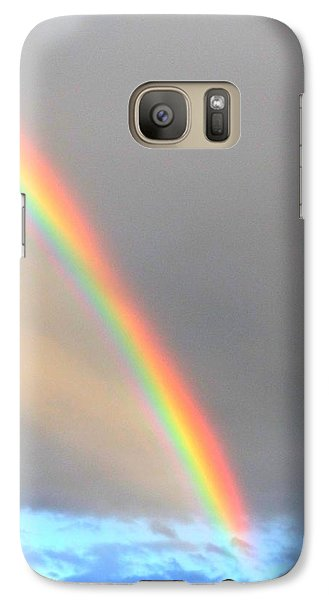 Galaxy Case featuring the photograph Arc Angle One by Lanita Williams