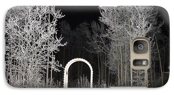 Galaxy Case featuring the photograph Arc De La Nuit by Brian Boyle