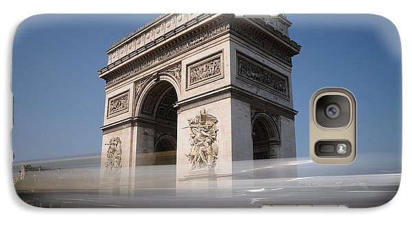Galaxy Case featuring the photograph Arc De Triomphe by Jeremy Voisey