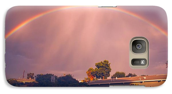 Galaxy Case featuring the photograph Arc Of The Rainbow by Jeremy McKay
