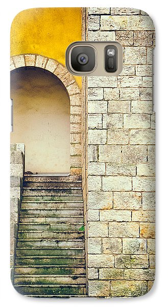 Galaxy Case featuring the photograph Arched Entrance by Silvia Ganora