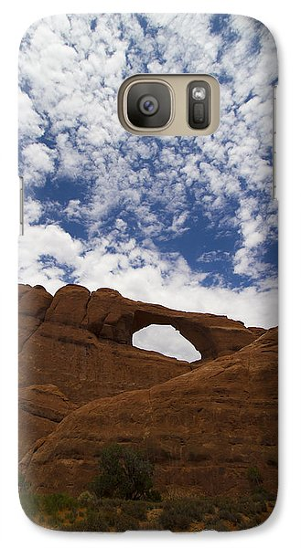Galaxy Case featuring the photograph Arches 1 by Tom Kelly