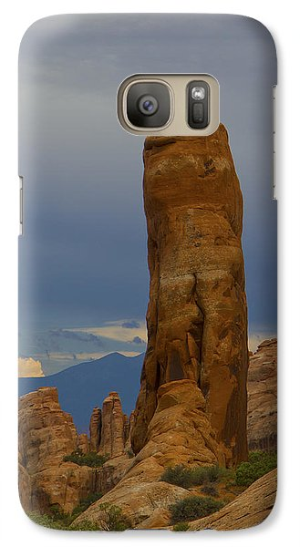 Galaxy Case featuring the photograph Arches 35 by Tom Kelly