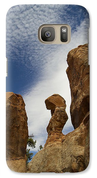 Galaxy Case featuring the photograph Arches 48 by Tom Kelly