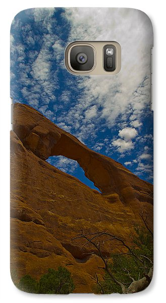 Galaxy Case featuring the photograph Arches 6 by Tom Kelly
