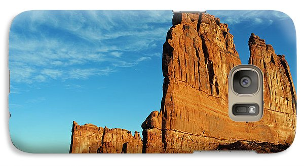 Galaxy Case featuring the photograph Arches National Park 47 by Jeff Brunton