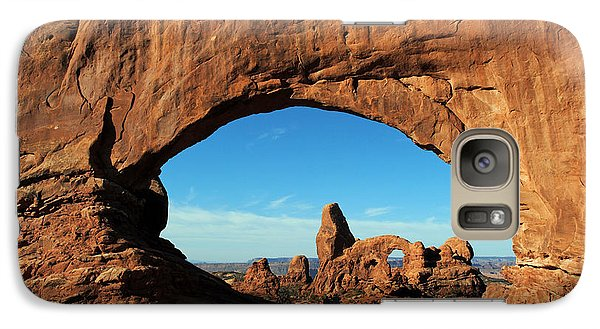 Galaxy Case featuring the photograph Arches National Park 61 by Jeff Brunton