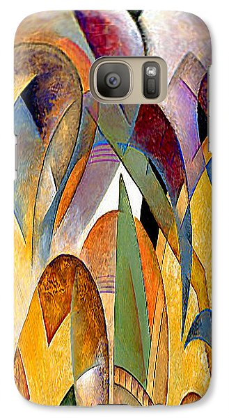 Galaxy Case featuring the mixed media Arches by Rafael Salazar