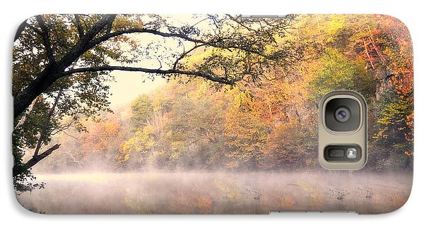 Galaxy Case featuring the photograph Arching Tree On The Current River by Marty Koch