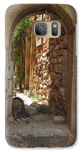 Galaxy Case featuring the photograph Archway by Pema Hou