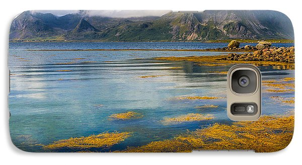 Galaxy Case featuring the photograph Arctic Circle Paradise by Maciej Markiewicz
