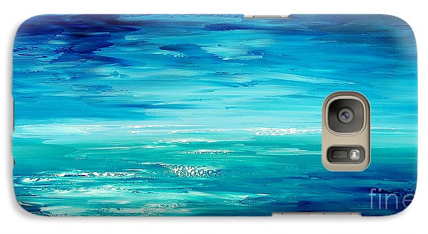 Galaxy Case featuring the painting Are We There Yet? by Tatiana Iliina