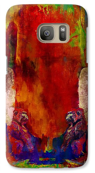 Galaxy Case featuring the photograph Are You Looking At Me by bob galka John  Kolenberg