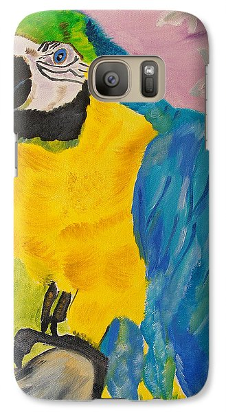 Galaxy Case featuring the painting Aren't I Beautiful? by Meryl Goudey