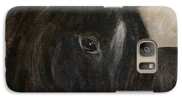 Galaxy Case featuring the painting Arion by Barbie Batson