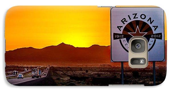 Truck Galaxy S7 Case - Arizona Centennial by Az Jackson