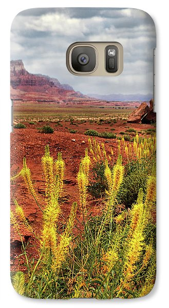 Galaxy Case featuring the photograph Arizona Landscape by Barbara Manis
