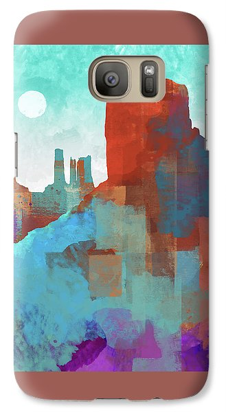 Arizona Monument Galaxy Case by Dan Meneely