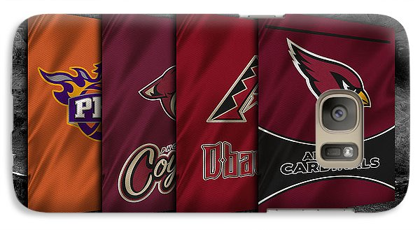 Arizona Sports Teams Galaxy S7 Case by Joe Hamilton