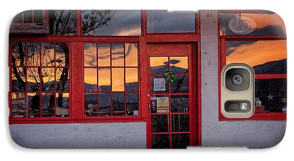 Galaxy Case featuring the photograph Arizona Sunrise Reflection by Ron Chilston