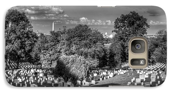 Galaxy Case featuring the photograph Arlington Cemetery by Ross Henton