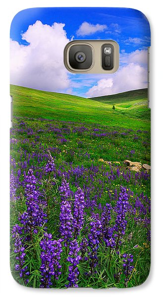 Galaxy Case featuring the photograph Aroma Of Summer by Kadek Susanto