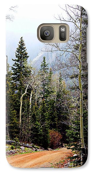 Galaxy Case featuring the photograph Around The Bend by Barbara Chichester