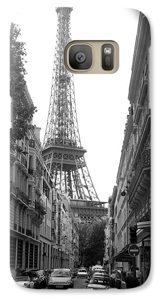 Galaxy Case featuring the photograph Around The Corner by Lisa Parrish
