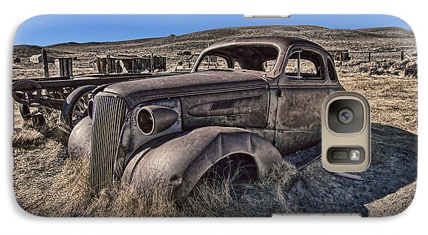 Galaxy Case featuring the photograph Arrested Decay  by Jason Abando