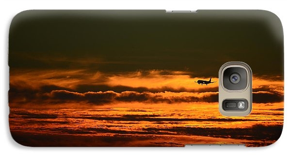 Galaxy Case featuring the photograph Arriving by Ronda Broatch